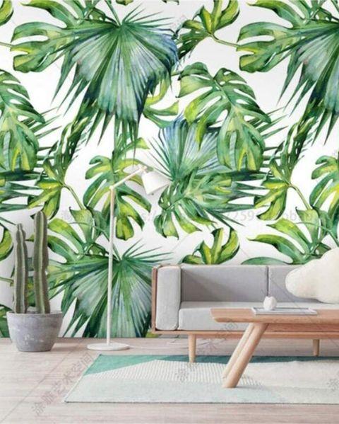 vinilo decorativo de bosque tropical, de amazon