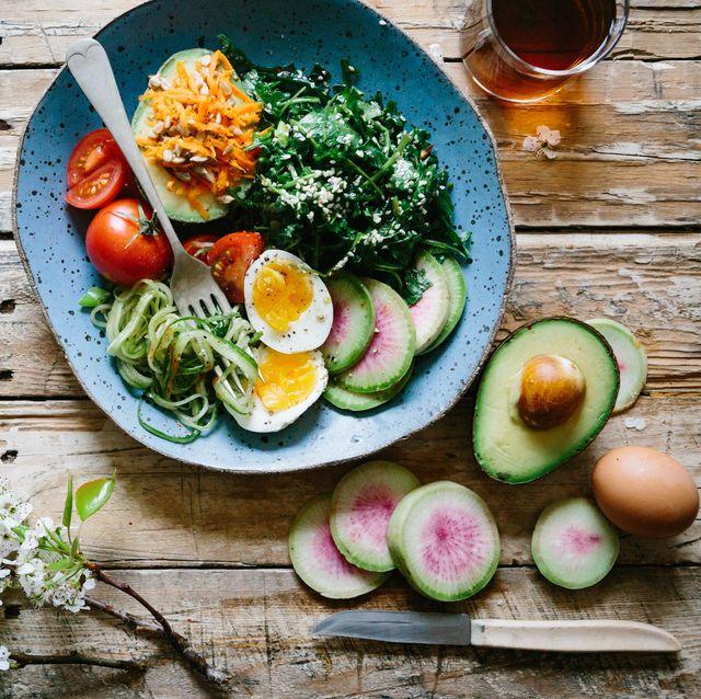 Dish, Food, Meal, Cuisine, Ingredient, Brunch, Vegetable, Salad, Vegetarian food, Superfood,