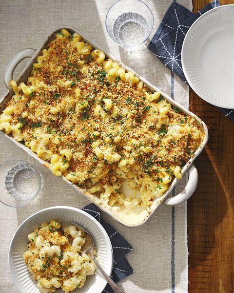 baked cauliflower mac 'n' cheese