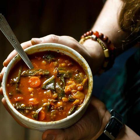 Fat Burning Vegetarian Collard Greens Soup