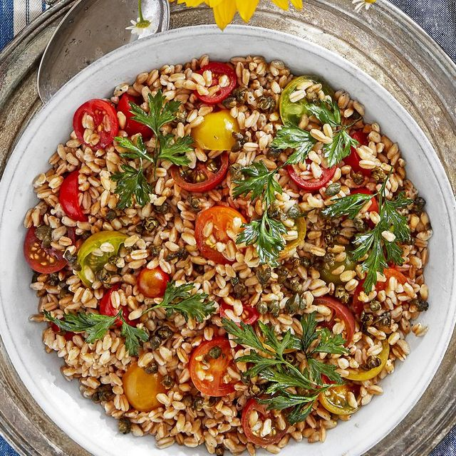 vegetarian dinner ideas farro
