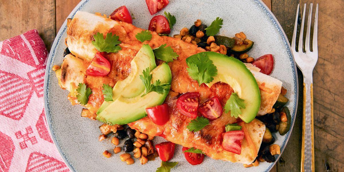 Best Vegetarian Enchiladas Recipe How To Make Vegetarian Enchiladas
