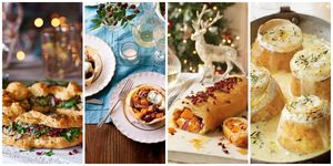 vegetarian Christmas dinner recipes