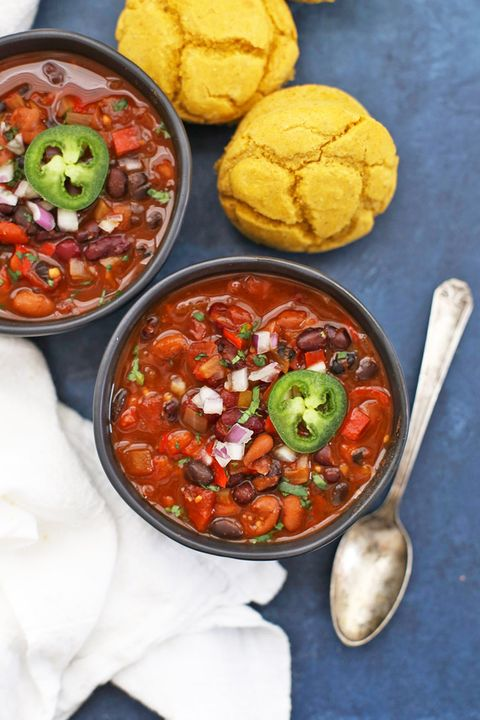 vegetarian slow cooker recipes vegan chili