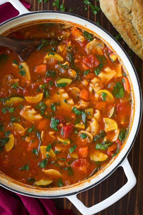 vegetarian soup recipes vegetable lasagna