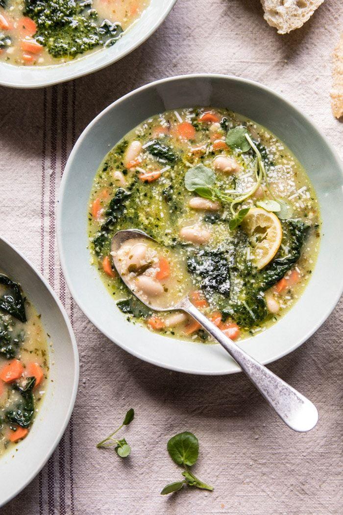 vegetarian soup recipes white bean
