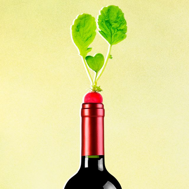 vegetarian wine pairing