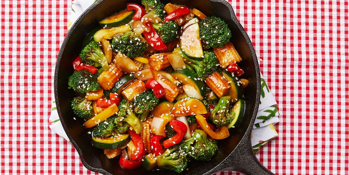 Veggie Stir Fry Recipe What To Put In Stir Fry