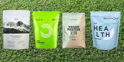 veganskt proteinpulver bäst i test