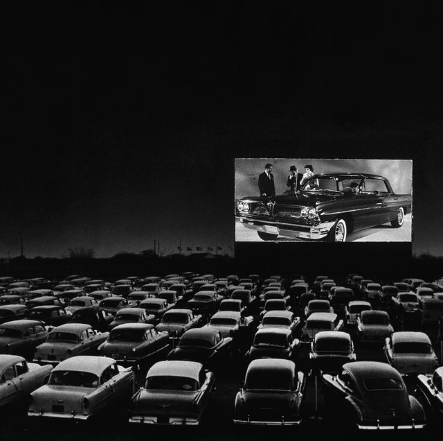 vintage drive in theater