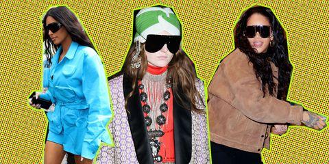 Gucci lente/zomer 2019, Kim Kardashian, Rihanna