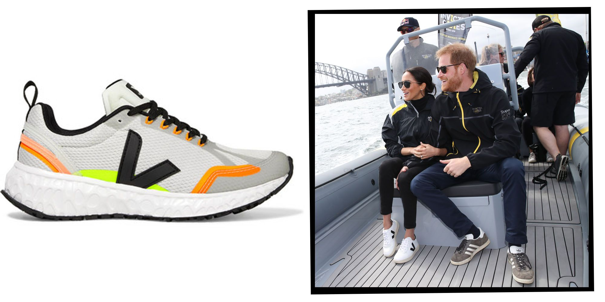 con las manos en la masa Se asemeja artículo  Meghan Markle's Favourite Trainer Brand Veja Launches Its First Sustainable  Running Shoe