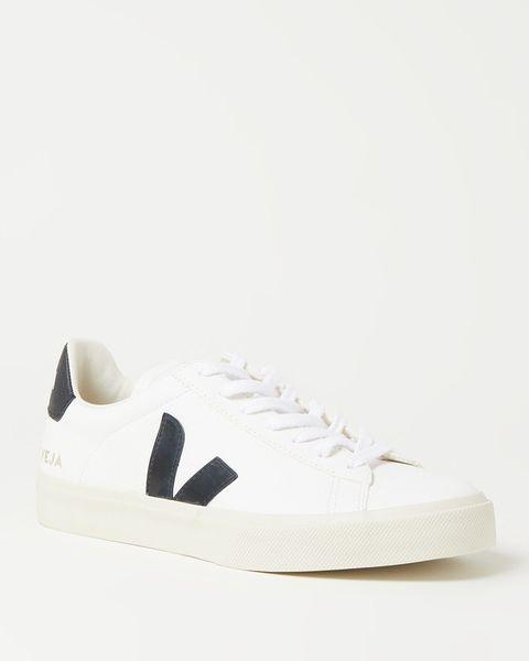 veja witte sneakers bijenkorf