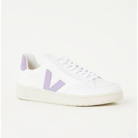 veja  witte dames sneakers leer