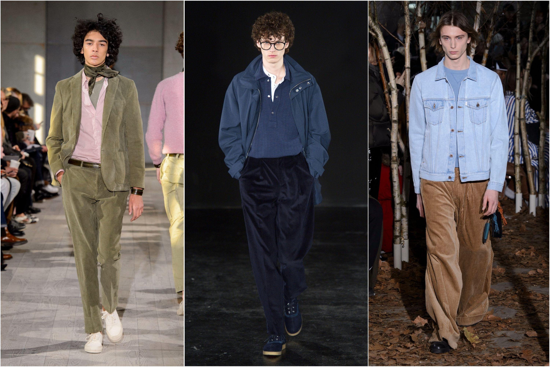 per Come di inverno 2018 l'autunno 2017 velluto pantaloni si