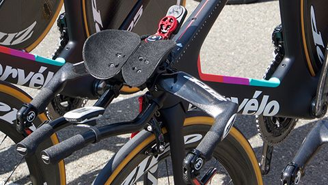 Velocio-SRAM bikes have the new wireless electronic shifting group.