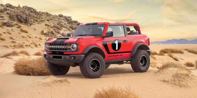 Hennessey Reveals Its 750-HP 2021 Ford Bronco VelociRaptor V8