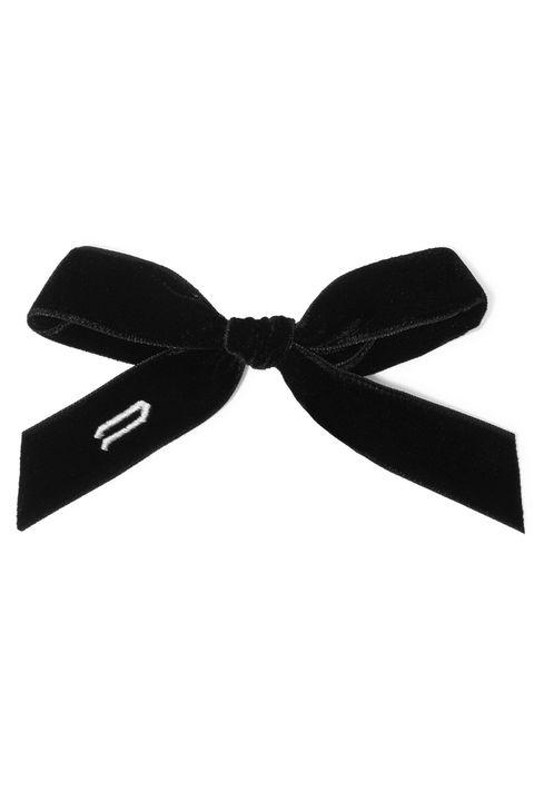 Velvet hair bows