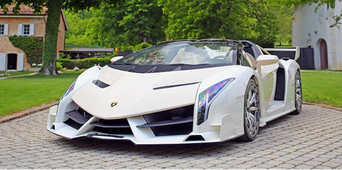 Buy a Veneno and a One:1 From This Crazy Government-Seized Collection