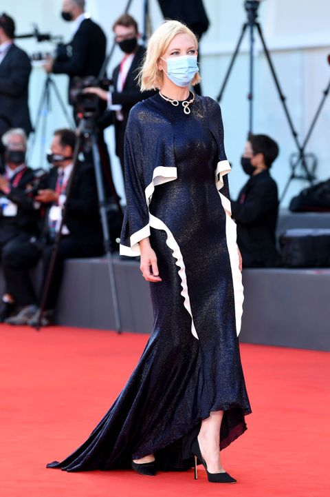 Cate Blanchett opens the Venice Film Festival wearing a former red-carpet  look