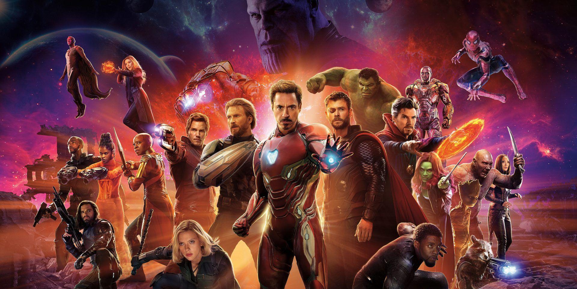 Vengadores 4 Infinity War