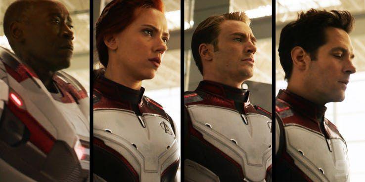 Los trajes de Vengadores: Endgame no eran de verdad - Marvel