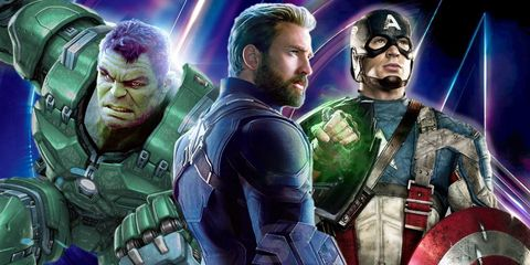 vengadores trajes iron man capitan america hulk
