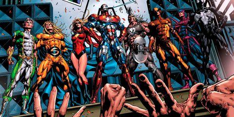 Vengadores Oscuros Dark Avengers 5