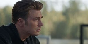 Vengadores Endgame Capitán América llorando