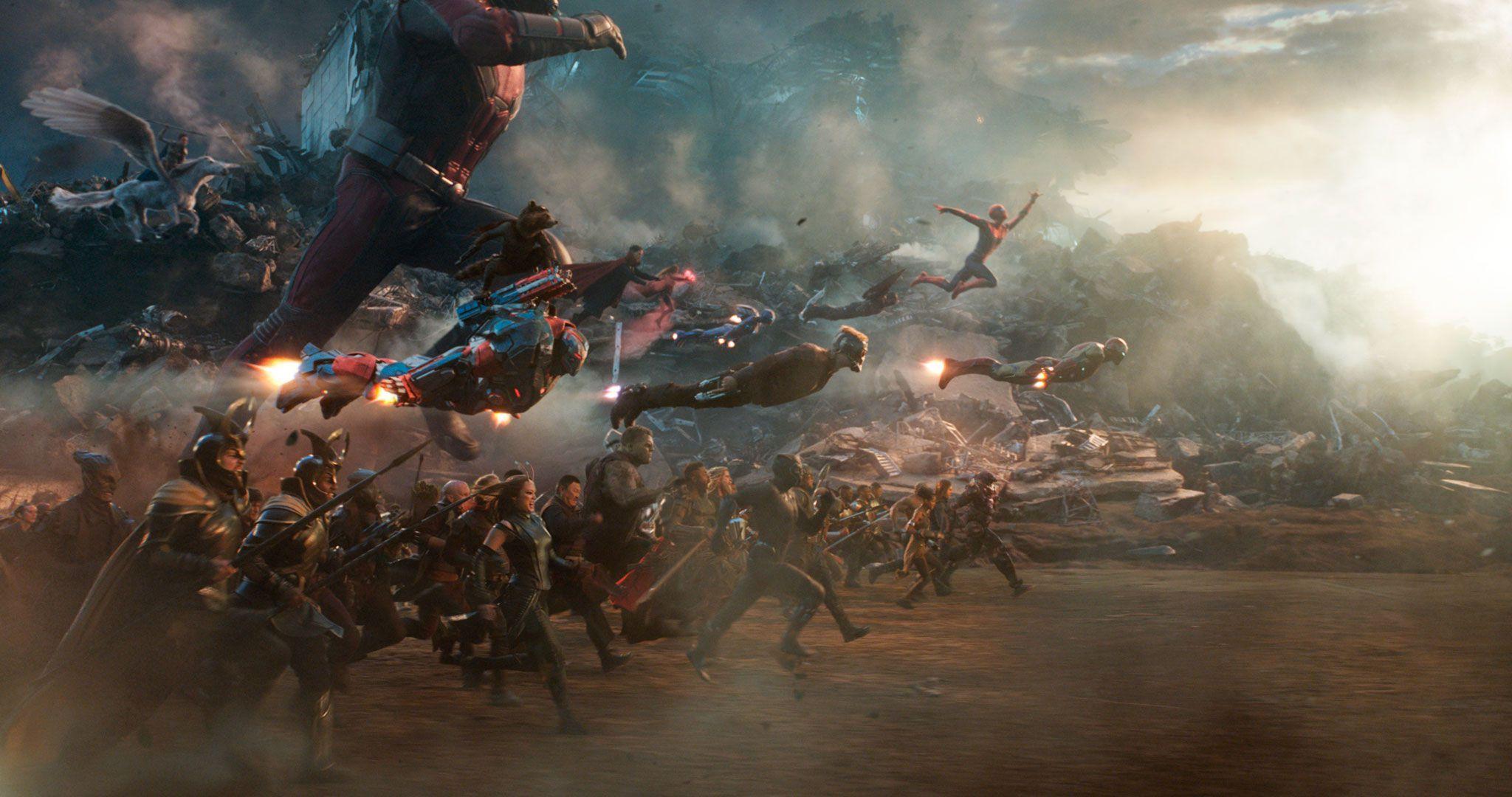 Vengadores Endgame y la Seguridad de Marvel - Atardecer Instagram