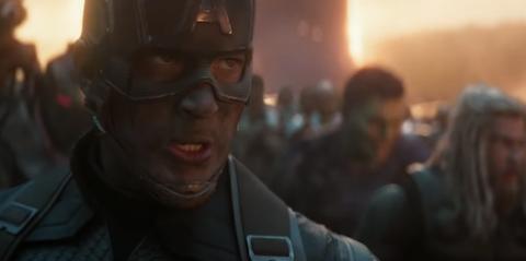 Capitán América pelea Thanos