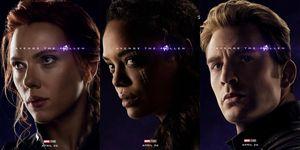 Vengadores Endgame pósteres