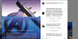 Vengadores Endgame Titanic taquilla