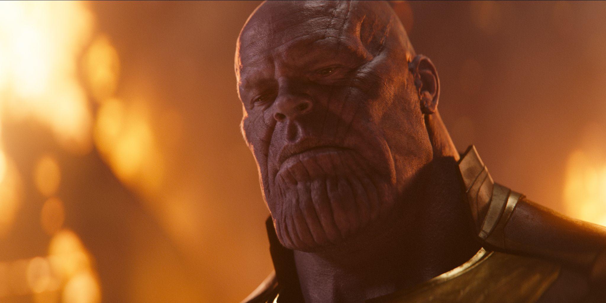 thanos vengadores infinity wars