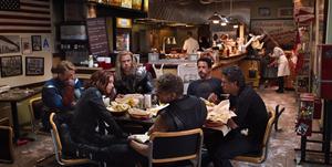 Vengadores Shawarma