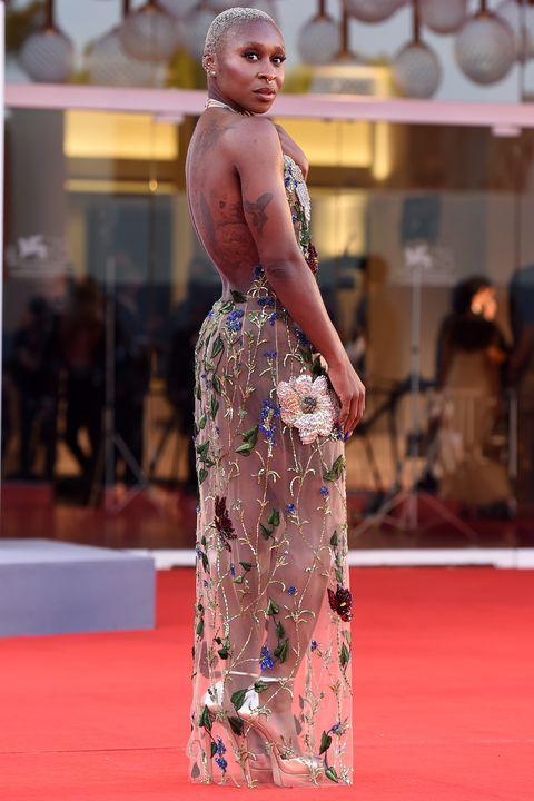 venice film festival 2021 red carpet celebrity style