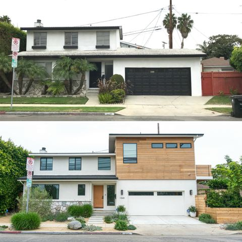 venice beach house before and after