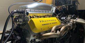 Hennessey Venom F5 V8 banco