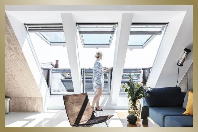 la ventana de terraza velux que se integra dentro del proyecto home elle decor