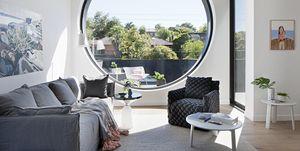 Propuesta de ventanas redondas