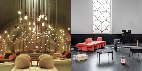 Interior design, Furniture, Living room, Room, Couch, Design, Building, Table, Chair, Architecture,