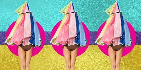 Pink, Outerwear, Textile, Dress, Pattern, Magenta, Illustration,