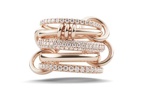 788618b997484 45 Best Rose Gold Engagement Rings - Stunning Rose Gold Engagement ...