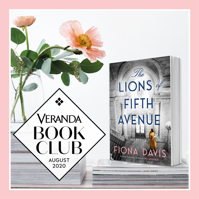 veranda sip  read book club august selection the lions of fifth avenue