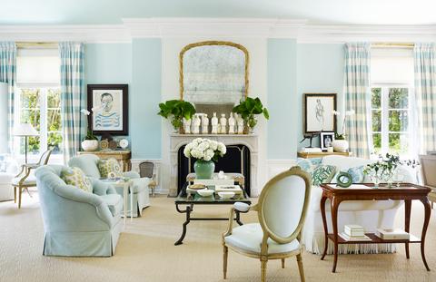 donald kaufman living room