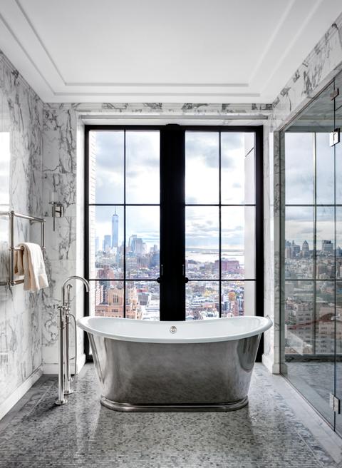 Luxurious Park Avenue Bathroom