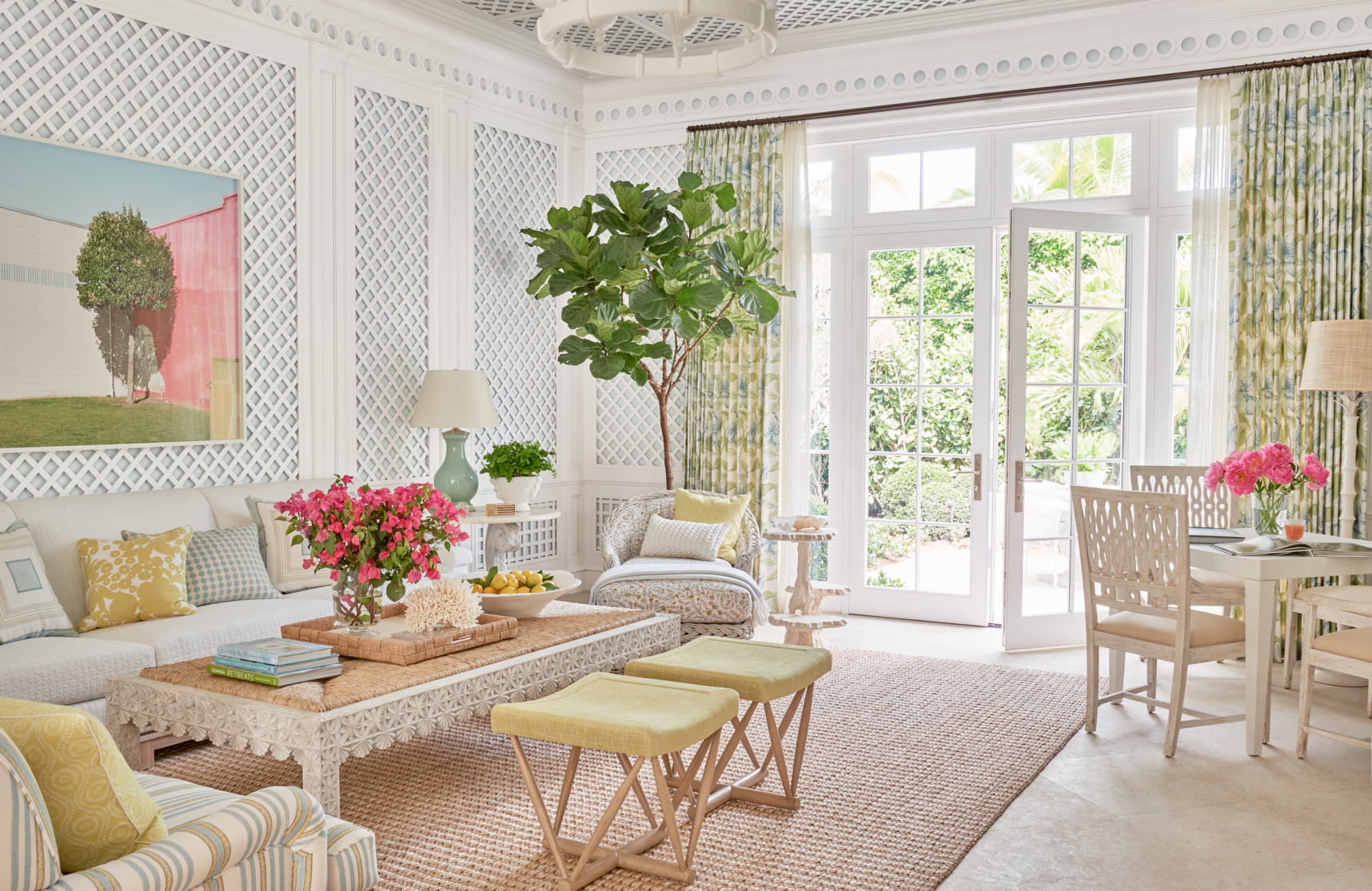 Palm Beach Home Tour: See Inside the Crisp and Fresh Florida ... on luxe home interiors, victoria beckham house interiors, andrew carnegie house interiors, bill gates house interiors, private island house interiors, celine dion house interiors,
