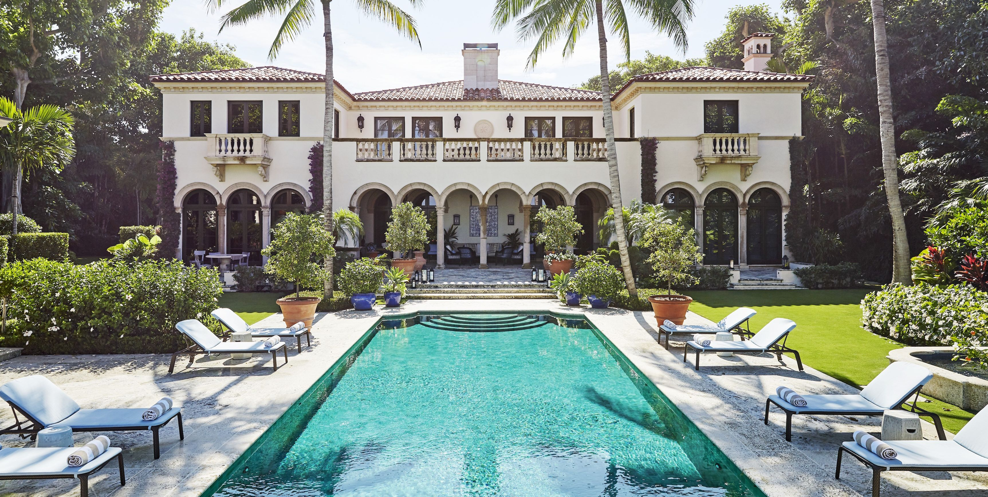 See How Bunny Williams Transformed a Mediterranean-style Villa in Palm Beach