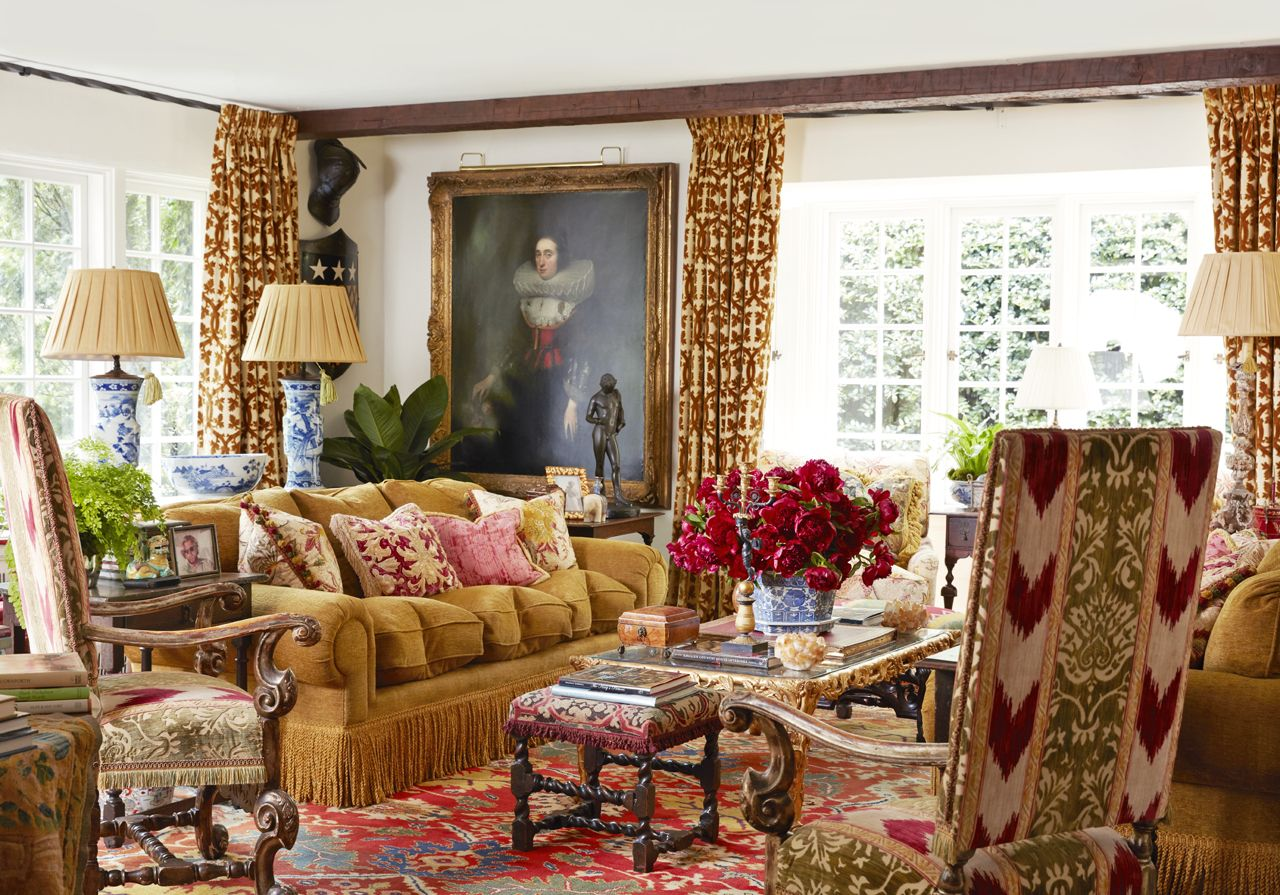 This 1920s Southern Cottage Brings Grand English Style in Spades, Indoors and Out