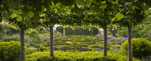 the gardens at broughton grange, oxfordshire designer tom stuart smith
